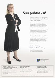 Vantaa/Soster: Rekry, Suu puhtaaksi