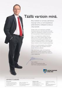 """Vantaa/Soster: Rekry """"Täällä vartioin minä."""""""